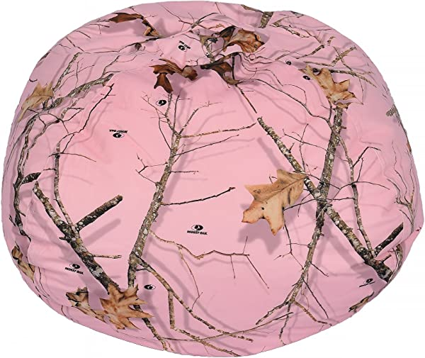 Ace Casual Mossy Oak Bean Bag Chair 096 Country Roots Soft Pink Mossy Oak Camo