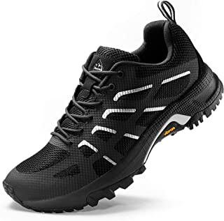 Wantdo Women's Trail Running Shoes Lightweight Trainer Hiking Shoes Mesh Sneakers