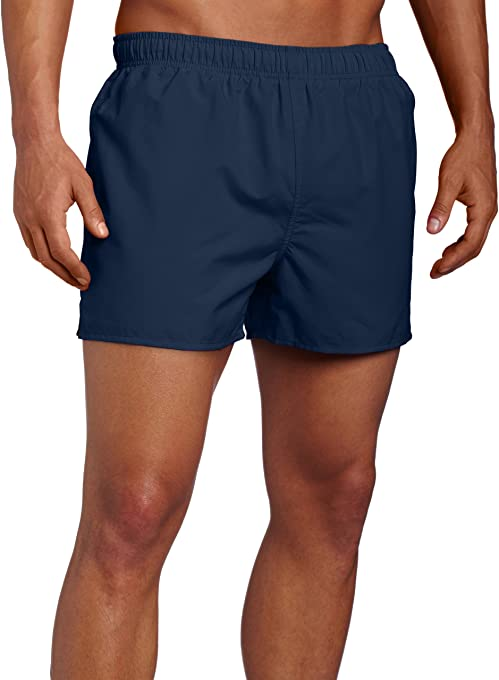 Speedo Surf Runner Volley Swim Trunks, Navy, Medium