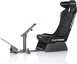 PLAYSEAT Evolution Alcantara PRO Edition Racing Video Game Chair for Nintendo Xbox Playstation CPU Supports Logitech Thrustmaster Fanatec Steering Wheel and Pedal Controllers
