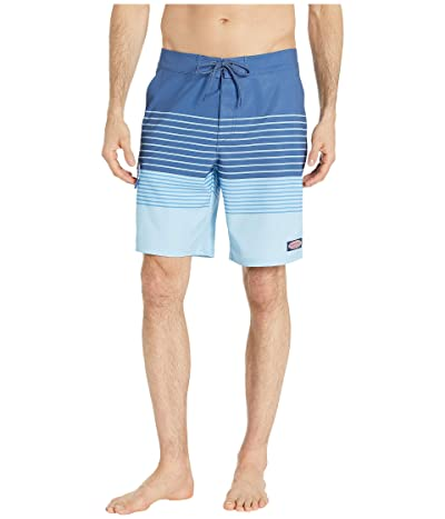 Vineyard Vines Salt Marsh Striped Boardshorts (Jake Blue) Men