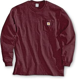 1ac6c50fce08 Carhartt Men s K126 Long Sleeve Workwear Crewneck T-Shirt