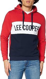 Lee Cooper Men's LC BLOCKED HOODIE Hooded Sweatshirt