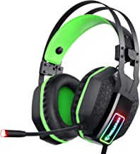 Mifanstech V-10 Gaming Headset for Xbox One Playstation 2 PS4 PS5 PC - 3.5mm Surround Sound, Noise Reduction Game Headphon...