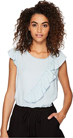 Jack by BB Dakota - Aspen Ruffle Top