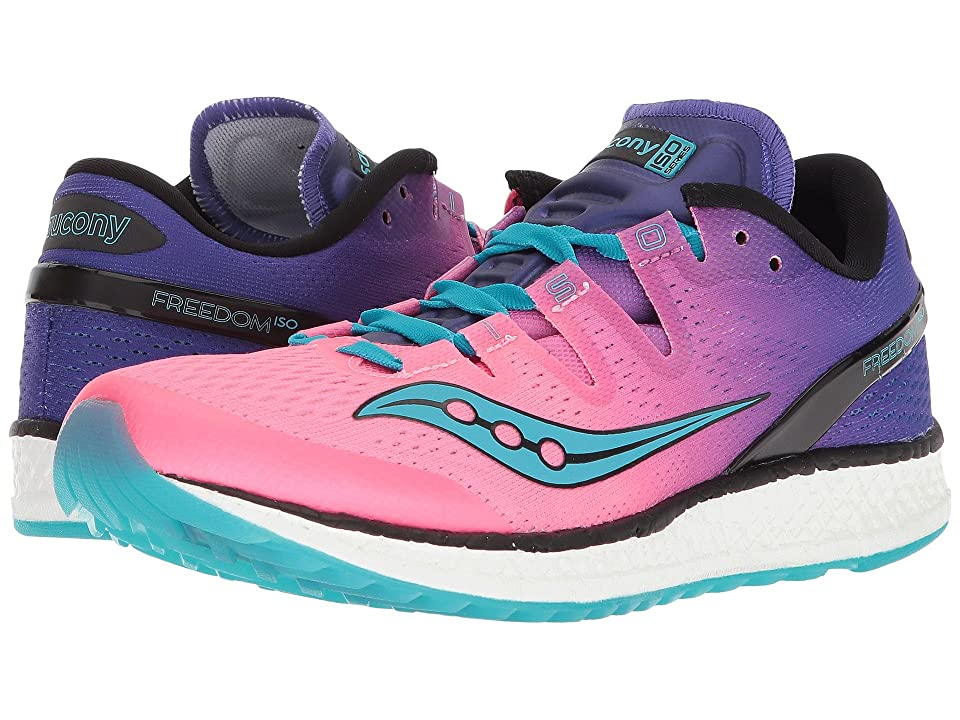 Saucony Freedom ISO (Pink/Purple/Teal) Women