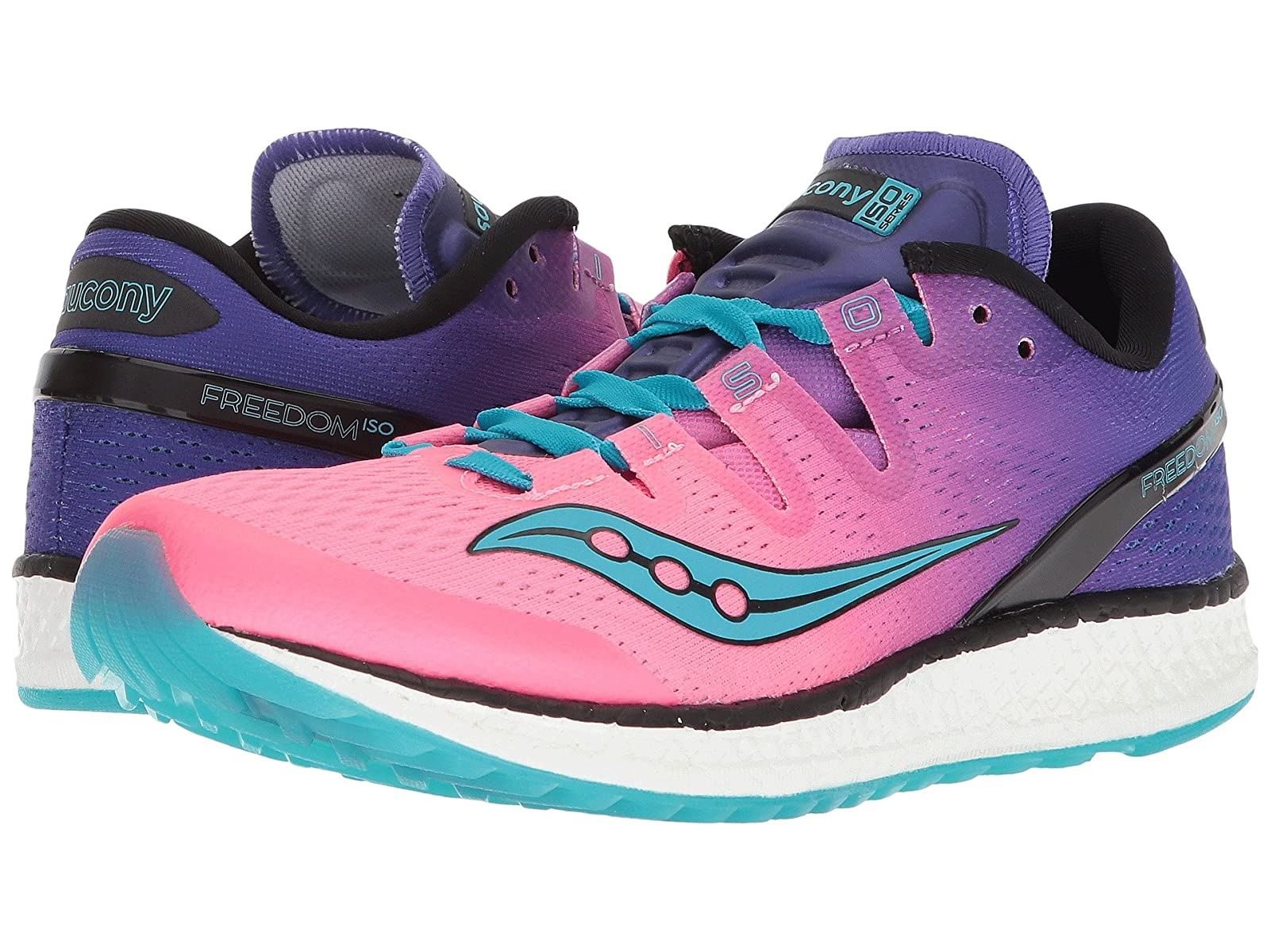 Men's/Women's:Saucony Freedom ISO Practical : Practical ISO and Economic 7b8d1d