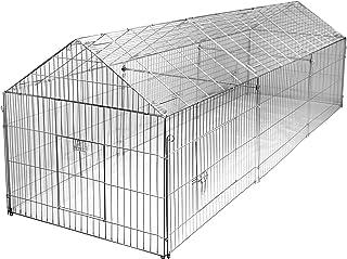 Kerbl 70358 Förlängningssats till utomhuskapsling 70345, 110 x 103 x 103 cm