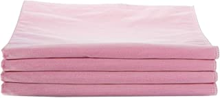 Medline Softnit 300 Washable Underpads, Pack of 4 Large Bed Pads, 34