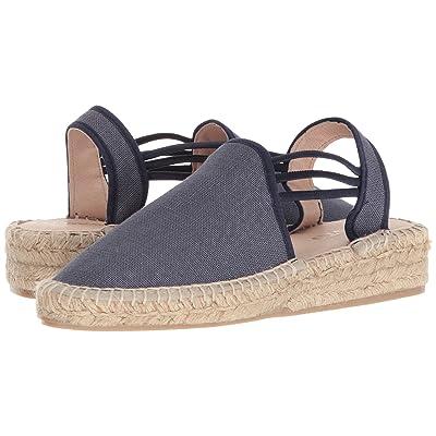 c5e172e2d0a72 Sesto Meucci 1635-PO (Navy Lino Fabric) Women's Shoes