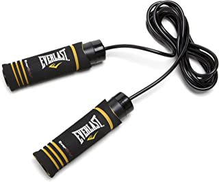 Everlast Evergrip Weighted Jump Rope (Black)