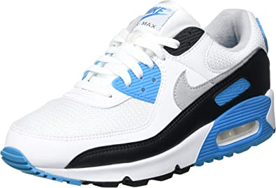 Nike Men's Shoes Air Max 90 Retro Laser Blue 2020 CJ6779-100