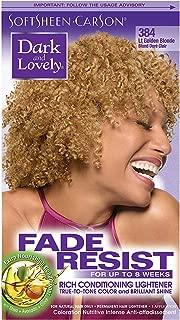 Dark & Lovely Color #384 Light Golden Blonde (2 Pack)