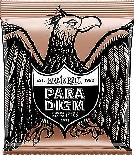 Ernie Ball Paradigm Light Phosphor Bronze Acoustic Guitar Strings - 11-52 Gauge