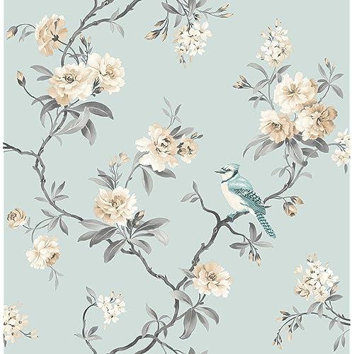Wallpaper With Birds Amazon Co Uk
