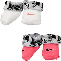 Nike Kids - 2-Pair Pack Daytrip Cuff Bootie (Infant)