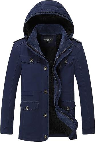 WPEW-Hommes's Coats Vestes avec Doubleure en big Verges