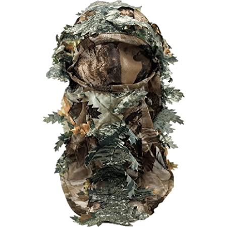 Harrington Marley 3D GHILLIE MASK FACE CAMO CAMOUFLAGE LEAVES WOODS PAINTBALL PIGEON SHOOTING
