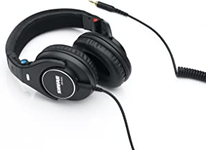 Shure SRH840 Professional Monitoring Headphones - Black
