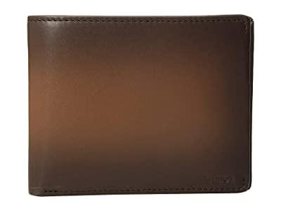 Tumi Nassau Global Double Billfold (Whiskey Burnished) Bill-fold Wallet