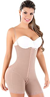 Women's Padded Shaper & Butt Lifter with Zipper - Tummy Control Shapewear