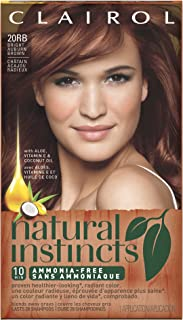 Clairol Natural Instincts 20RB Bright Auburn Brown 1 Kit