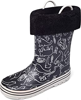 Nova Little Kid's Rain Boots Snow Boots