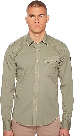 BELSTAFF - Steadway Garment Dyed Twill Shirt