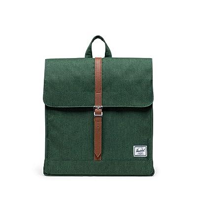 Herschel Supply Co. City Mid-Volume (Greener Pastures Crosshatch) Backpack Bags