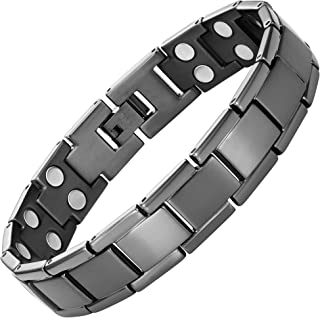 Double Strength Titanium Magnetic Therapy Bracelet For Arthritis Pain Relief By Willis Judd