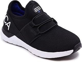 Kids Sneaker Athletic Slip-On Bungee Running Shoes|Boy -...