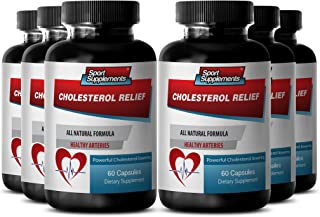 Policosanol - Cholesterol Relief - Improve Blood Circulation - 6 Bottles 360 Capsules
