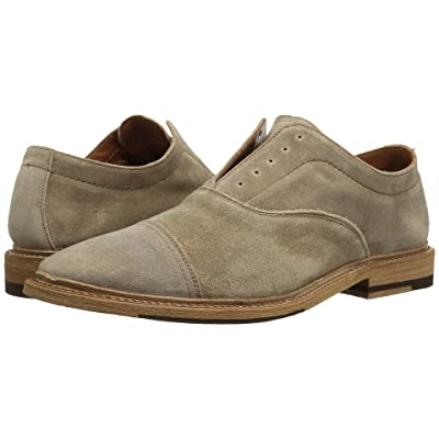Frye Paul Bal Oxford (Ash Washed Waxed Suede) Men