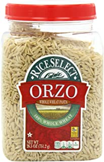 RiceSelect Orzo Whole Wheat Pasta - 26.5 oz