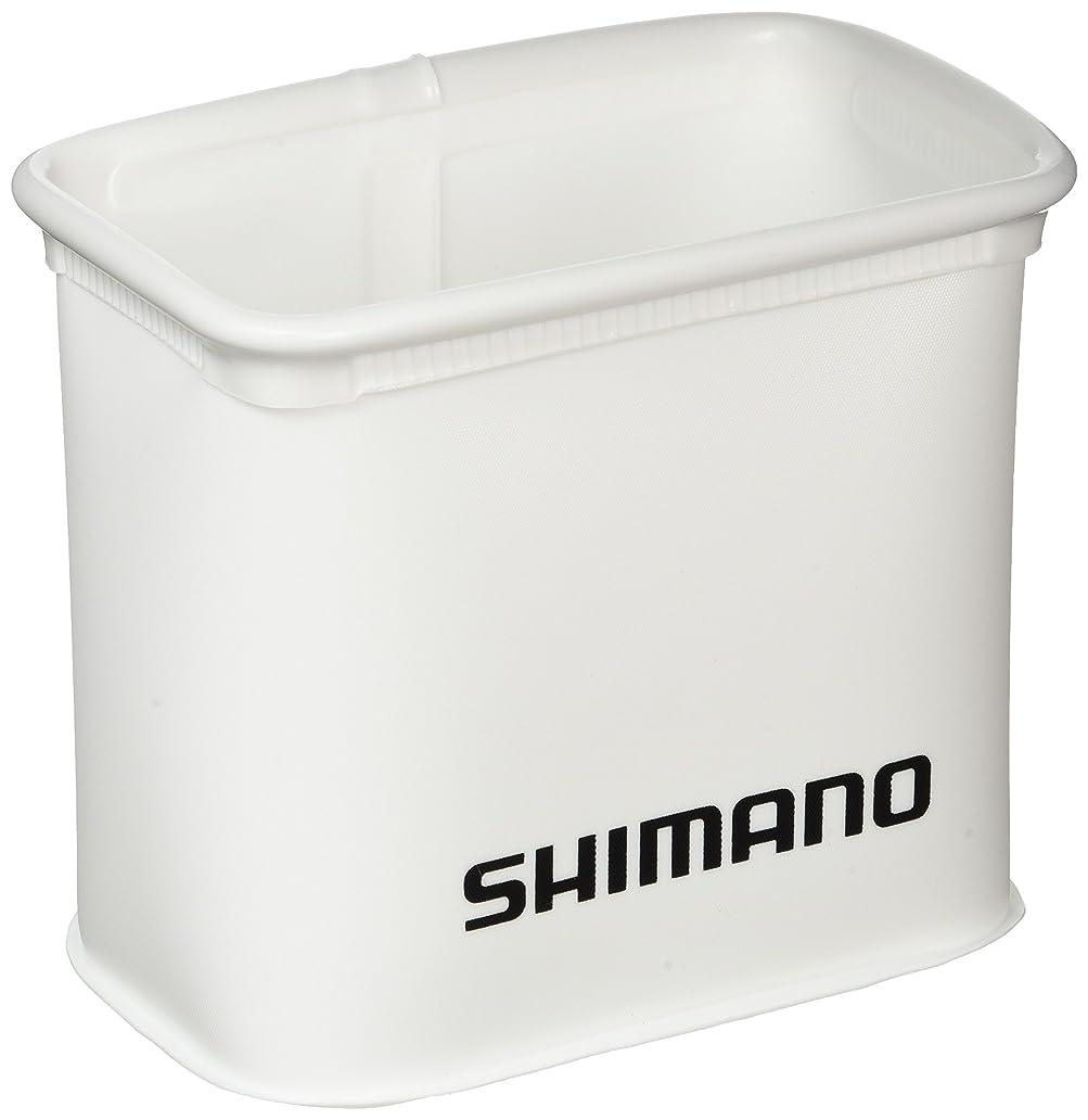 移植放出しなやかなシマノ(SHIMANO)バッカン 9L 仕切り BK-109G ホワイト 983879