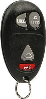 Key Fob Keyless Entry Remote fits Buick Century Regal Rendezvous / Oldsmobile Intrigue / Pontiac Aztek Grand Prix 2001 2002 2003 2004 2005 2006 2007 (L2C0007T)