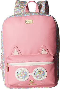 Poppy Kitch PVC Kat Backpack