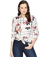 Lorena Longline Brushed Cotton Shirt