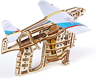 UGEARS Mechanical Wooden 3D Puzzle Model Flight Starter Set