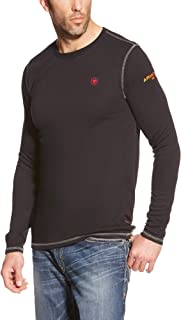 Ariat Men's Flame Resistant Polartec Powerdry Long Sleeve BaselayerHenley Shirt