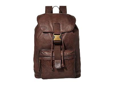 FRYE AND CO. Cody Backpack (Dark Brown) Backpack Bags