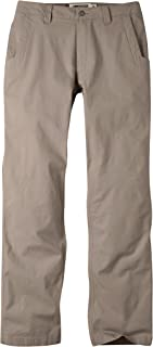 Mens Pants: All Mountain Pant Slim Fit - Low-Rise Stretch Organic Cotton Canvas