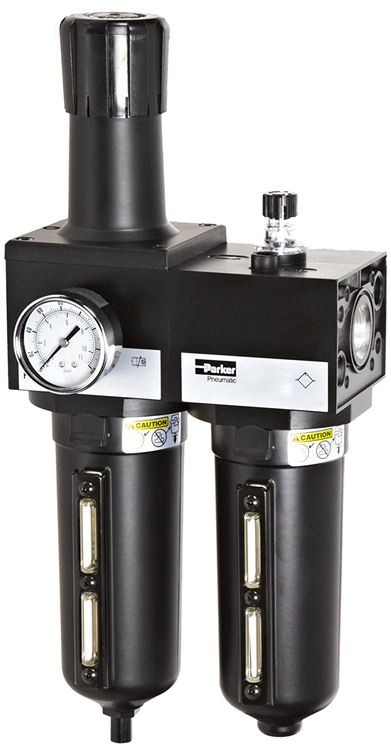 Parker P3NCA98SGMNGLNA Two-Unit Selling and selling Combo 1 year warranty Air Filter Regu Compressed