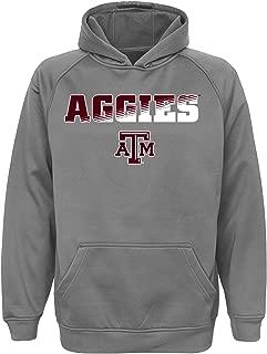 NCAA Youth Boys Grey Performance Hoodie