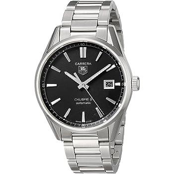 [タグホイヤー] TAG HEUER 腕時計 カレラ キャリバー5 ブラック WAR211A.BA0782 メンズ 新品 [並行輸入品]