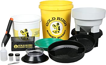 Gold Rush Nugget Bucket - A Gold Panning Kit Seen On Shark Tank!