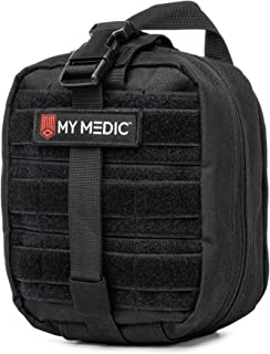 My Medic MyFak First Aid Kit - Water Resistant Bag, Bandages, Burn Aids, CPR Shield, Survival First Aid Kit, Airway, Tourniquet, Stainless Steel Instruments - Basic