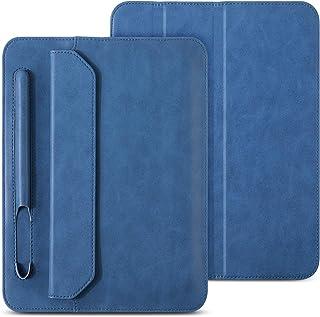 JISON21 iPad Mini 5 Sleeve Case Leather Soft Microfiber Slim Thin Tablet Sleeve Bag with Pencil Holder Folio Stand Case fo...