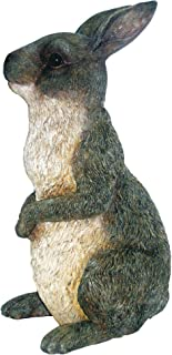 Peter Rabbit Gray Rabbit Family by Michael Carr Designs - Outdoor Rabbit Figurine for Gardens, patios and lawns (511010GY)