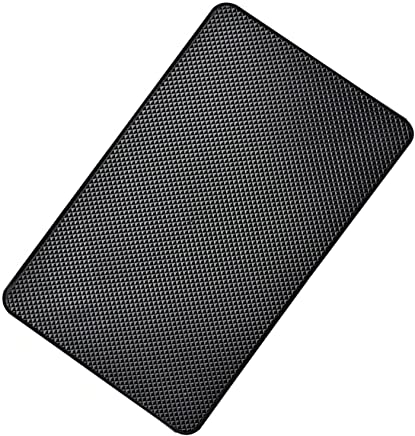 Hulless - Super Sticky 27 x 15cm Magic Anti-Slip Non-Slip Mat Car Dashboard Sticky Pad Adhesive Mat for Cell Phone, CD, Electronic Devices, iPhone,Keychains, Sun Glasses Holder, GPS - Black